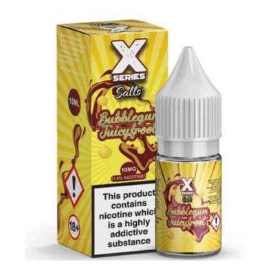 x series bubblegum juicyfroot salt